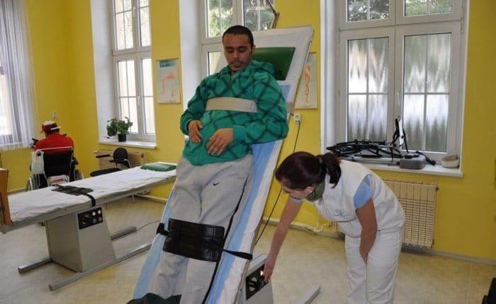 العلاج الطبيعي في مصحة دوبي