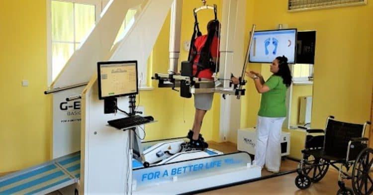 العلاج في التشيك - برنامج إعادة التأهيل الروبوتي